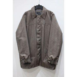 Oakley mens L Herringbone heavy full zip jacket LG